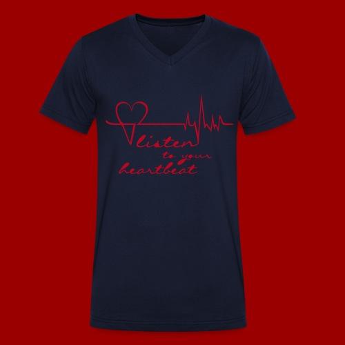 T-Shirt V-Neck HL2 (Men) - Männer Bio-T-Shirt mit V-Ausschnitt von Stanley & Stella