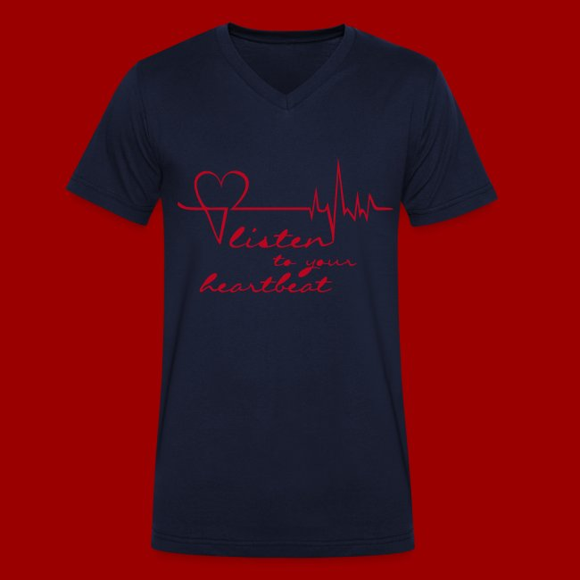 reputable site 70cdd 76779 T-Shirt V-Neck HL2 (Men) | Männer Bio-T-Shirt mit V-Ausschnitt von Stanley  & Stella