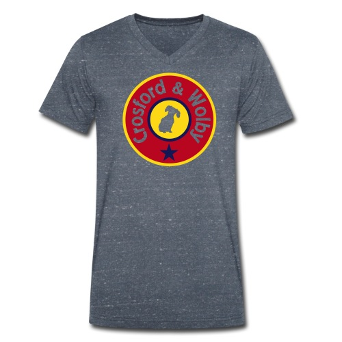 C&W John's Sunny Day V-Neck - Men's Organic V-Neck T-Shirt by Stanley & Stella