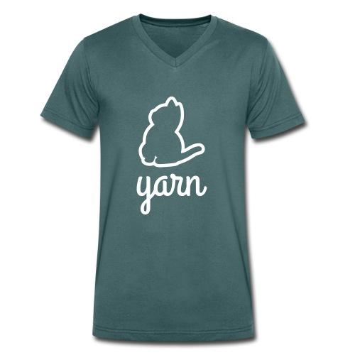 Yarn - Männer Bio-T-Shirt mit V-Ausschnitt von Stanley & Stella