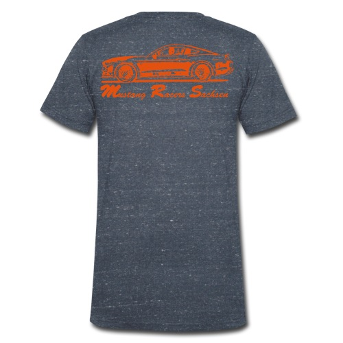 T-Shirt V-Ausschnitt - Männer Bio-T-Shirt mit V-Ausschnitt von Stanley & Stella