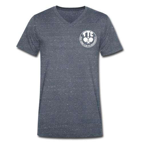 TTC Casual Retro - Männer Bio-T-Shirt mit V-Ausschnitt von Stanley & Stella