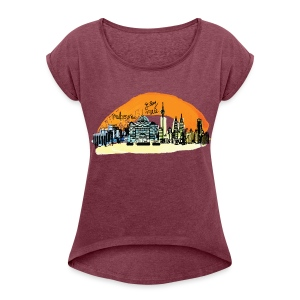 Gday mate Melbourne Women's T-shirt with rolled up sleeves - Women's T-shirt with rolled up sleeves
