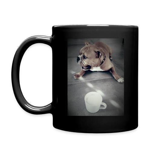Cry for coffee - Tasse einfarbig