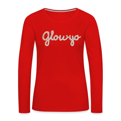 Glowyo - Vrouwen Premium shirt met lange mouwen