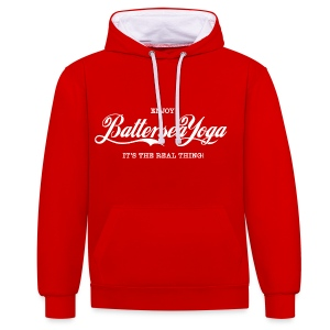 Enjoy Battersea Yoga - Contrast Colour Hoodie