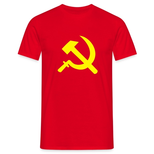 HAMMER AND SICKLE TEE - Men's T-Shirt