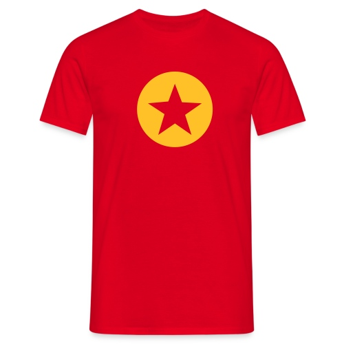 CIRCLE/STAR TEE - Men's T-Shirt