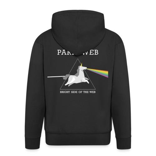 The bright side of the web - Sweet Homme - Veste à capuche Premium Homme