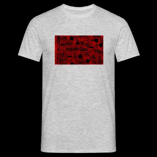 Vorsicht Glas! | T-Shirt Men - Männer T-Shirt