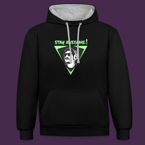 Stabner Awesome - Contrast Colour Hoodie