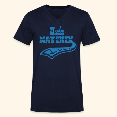 I LIKE MATINIK - T-shirt bio col V Stanley & Stella Homme