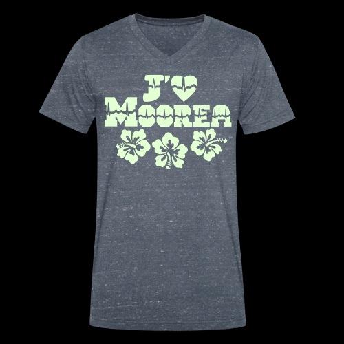j'aime Moorea - Men's Organic V-Neck T-Shirt by Stanley & Stella