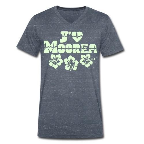 j'aime Moorea - T-shirt bio col V Stanley & Stella Homme