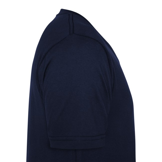 16Vampir Fan-V-Shirt navy beidseitig bedruckt
