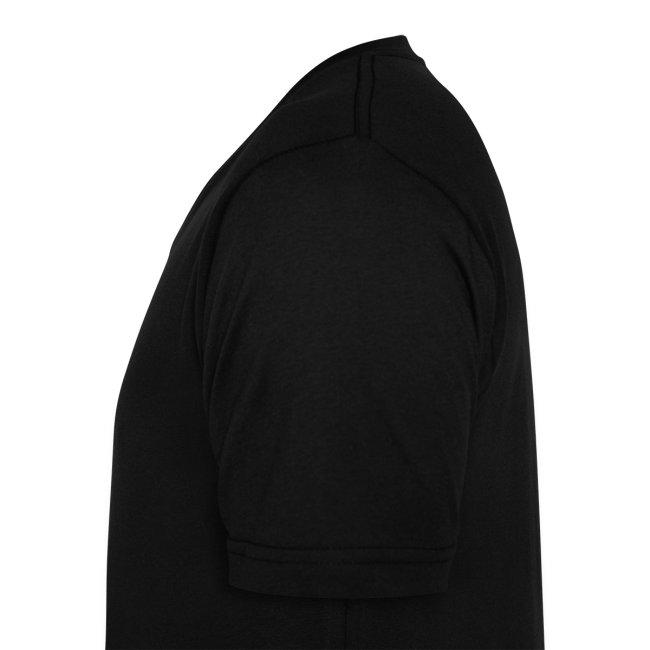 16Vampir Fan-V-Shirt schwarz beidseitig bedruckt