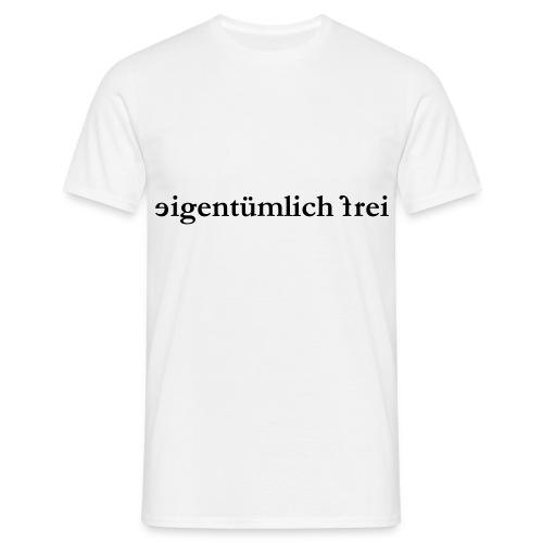 T-Shirt ef - Männer T-Shirt