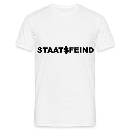 T-Shirt Staatsfeind - Männer T-Shirt