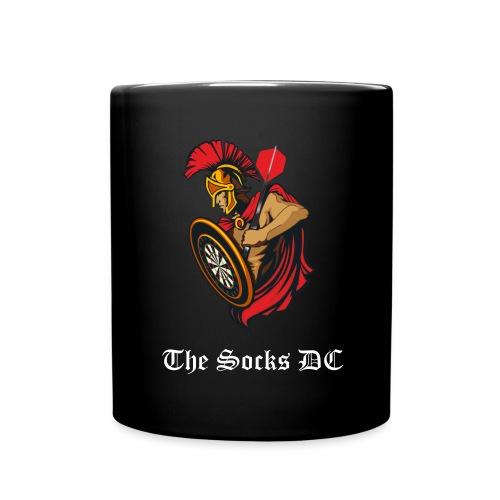 Kaffe-Becher The Socks DC schwarz - Tasse einfarbig