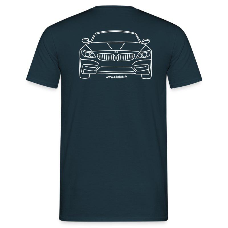T-shirt Z4 sDrive au dos. Motif blanc - T-shirt Homme