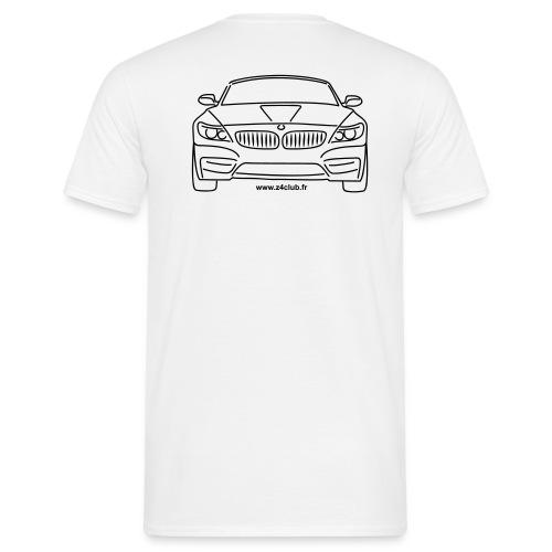 T-shirt Z4 sDrive Face + texte club noir - T-shirt Homme