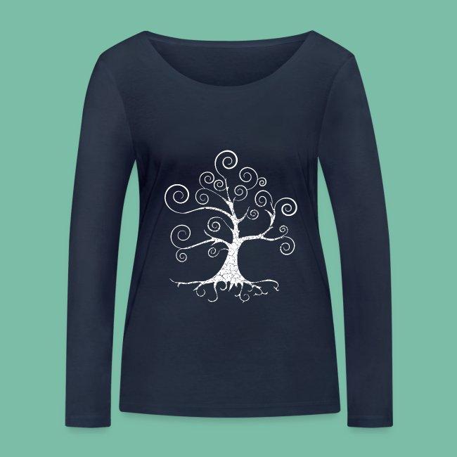 Tshirt manches longues  arbre harmonie Brocéliande Spirit