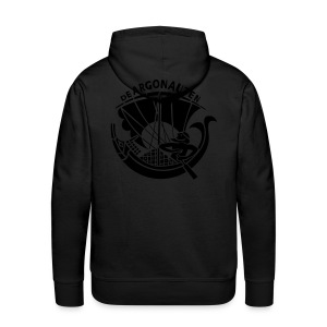 CLVSSIC ARGO BLVCK ON BLVCK SWEAT - Mannen Premium hoodie