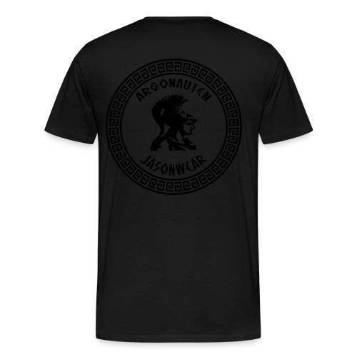 JVSONWEAR SHIRT BLVCK ON BLVCK - Mannen Premium T-shirt