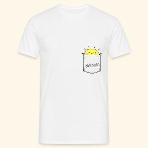 Emergency Pocket Of Sunshine (Male) - Men's T-Shirt