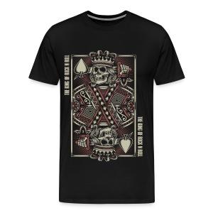King of Rock n Roll - Mannen Premium T-shirt
