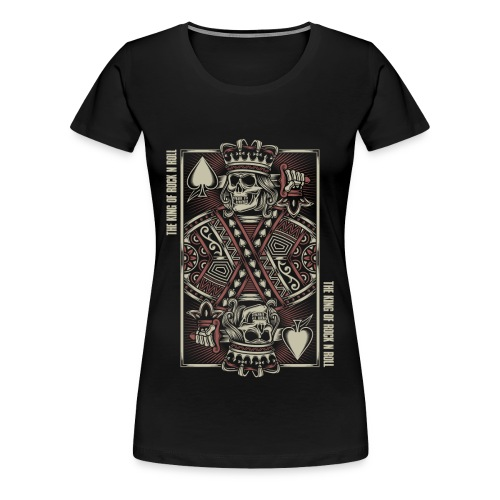 King of Rock n Roll - Vrouwen Premium T-shirt