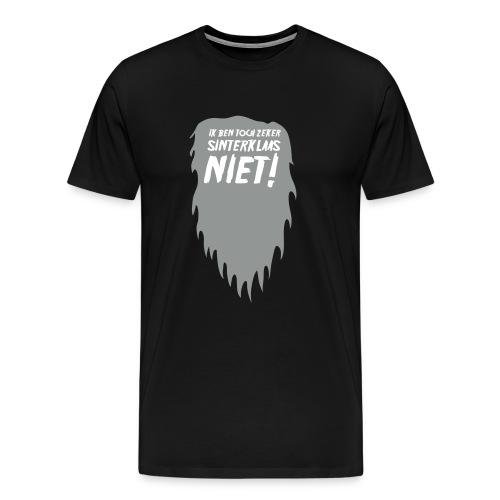 Ik ben toch zeker Sinterklaas niet mannen T-shirt - Mannen Premium T-shirt