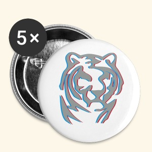BADGE 3D TIGER metal Chinese new year - Badge petit 25 mm