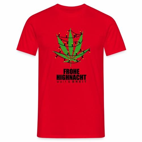 Frohe HighNacht - T-Shirt - Männer T-Shirt