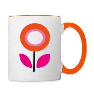 Daisy Tasse - Tasse zweifarbig