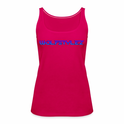 WolfstyleZ, New Generation Woman T - Shirt - Frauen Premium Tank Top