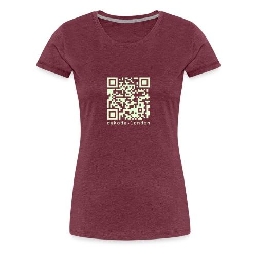 I Am A Number Not A Person - Women's Premium T-Shirt