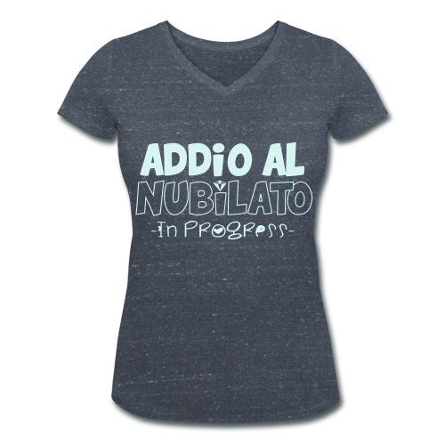 addio al nubilato - T-shirt ecologica da donna con scollo a V di Stanley & Stella