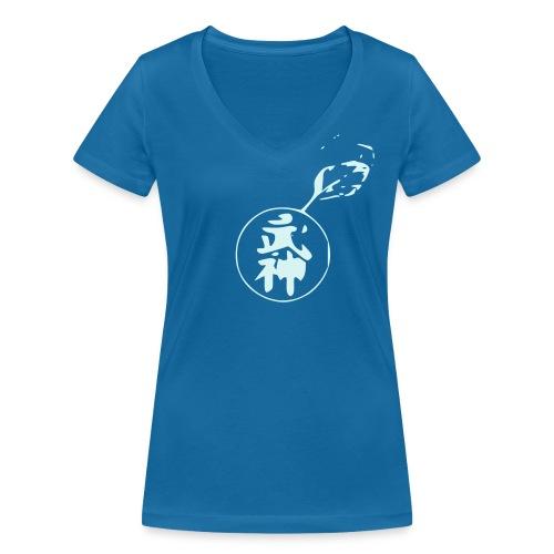 Women Full Unicolor - T-shirt bio col V Stanley & Stella Femme
