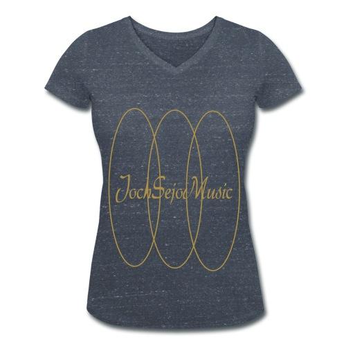 JochSejoMusic V-Neck T-Shirt - Ekologisk T-shirt med V-ringning dam från Stanley & Stella