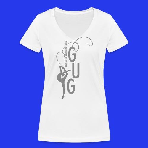 Damen - T-Shirt tailliert - V-Ausschnitt - Frauen Bio-T-Shirt mit V-Ausschnitt von Stanley & Stella