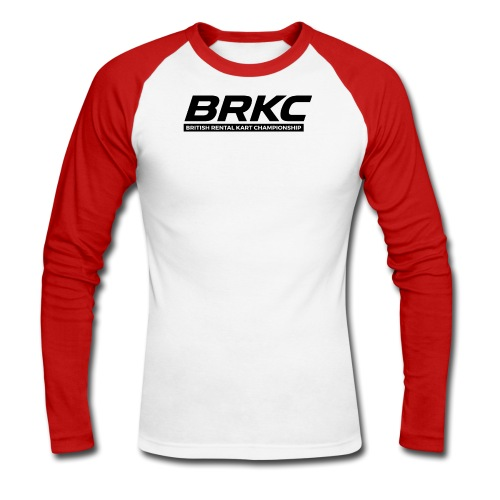 BRKC Two Colour Long-Sleeve Under Suit Shirt - Men's Long Sleeve Baseball T-Shirt