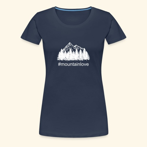 Mountain love Travellers´ Choice - Frauen Premium T-Shirt