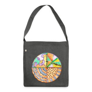 Purifying Creativity organic cotton bag - Borsa in materiale riciclato