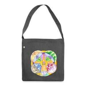 Creativity Focus organic cotton bag - Borsa in materiale riciclato