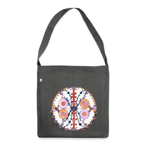 Creativity Butterfly organic cotton bag - Borsa in materiale riciclato