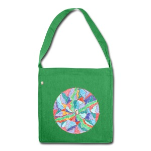 Creativity Nourishment organic cotton bag - Borsa in materiale riciclato