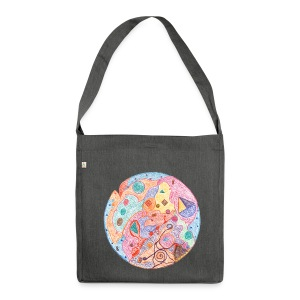 Creativity Healing organic cotton bag - Borsa in materiale riciclato