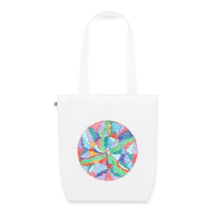 Creativity Nourishment organic cotton tote bag - Borsa ecologica in tessuto