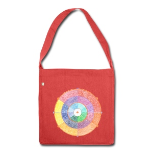 Creativity Rainbow organic cotton bag - Borsa in materiale riciclato
